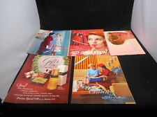Lot 5 Vintage 1962 1963 Avon Gifts Perfume Cosmetics Catalogs + Sales Books