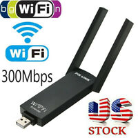 WiFi Repeater Signal Booster Dual Band 300Mbps Wireless AP Extender Router