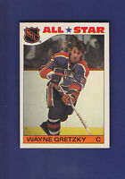 Wayne Gretzky All Star 1985-86 TOPPS Hockey Sticker Insert Set #2 (EXMT)
