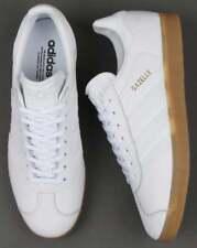 Adidas Originals Gazelle (Leather) - White & Gum. BNIBWT.