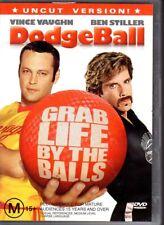 DODGEBALL - DVD R4 (2006) Vince Vaughn Ben Stiller - LIKE NEW - FREE POST