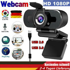 1080P HD Webcam USB 3.0 USB 2.0 Kamera Mit Mikrofon für Computer PC Laptop DE