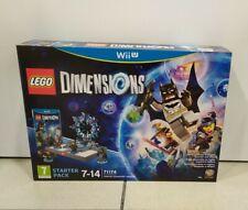 LEGO Dimensions Starter Pack GIOCO WII U VERSIONE ITALIANA NUOVO