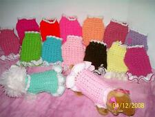 Dog Apparel FULLY CUSTOMIZED PUPPY Dress U-pick Color,Size. etc,,..