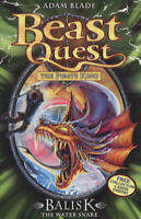 Beast quest: Balisk the water snake by Adam Blade (Paperback) Quality guaranteed