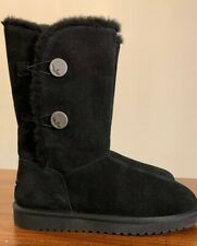 KOOLABURRA BY UGG 1096409 KINSLEI TALL BLACK SIZE 10, WOMAN'S BOOTS BRAND NEW.