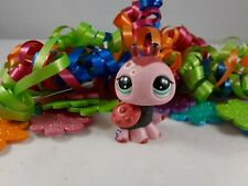 Littlest Pet Shop Blythe Flowery Accented Red and Black Ladybug #1859