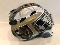 Marc Andre Fleury Las Vegas Golden Knights Signed NHL F/S goalie Mask  COA Holo