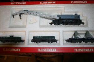 Fleischmann, 5597, Kranwagenpackung