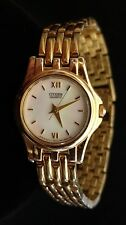 """Citizen Womens Quartz Watch - Stainless Steel Band -Needs Battery - Sold """"As Is"""""""