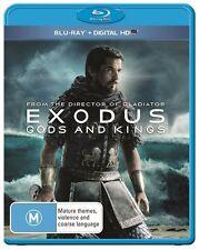 Exodus - Gods And Kings (Blu-ray, 2015) Brand New & Sealed
