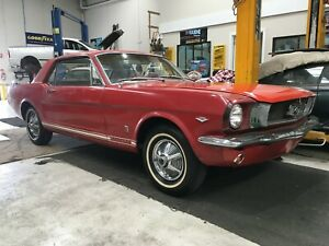 1965 FORD MUSTANG GT COUPE