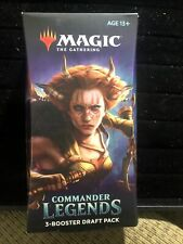 Magic the Gathering Commander Legends. 20 Card Booster Insert Draft Boosters