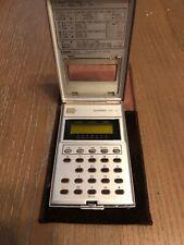 Casio Mq-5 Calculator w/ Case Slim Rare Clean Excellent Condition
