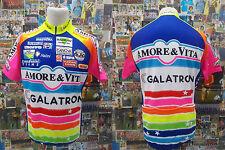 maglia body ciclismo bike shirt maillot camiseta AMORE & VITA PEPSI NALINI A514