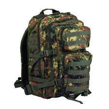 Mil-Tec Military Molle Assault Tactical Backpack 36L Flecktarn Camo