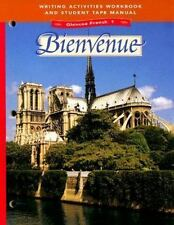 Glencoe French 1 Bienvenue Writing Activities Workbook and Student Tape Manual
