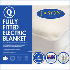 Jason Bedding Machine Washable Electric Blanket Heated Warm Fully Fitted QUEEN