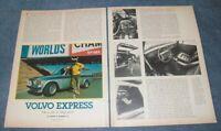 "1973 Volvo 145 Custom Station Wagon Vintage Article ""Volvo Express"""