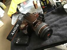 Sony Alpha DSLR-A330 10.2MP Digital SLR Camera - Brown (Kit w/ DT SAM 18-55mm...