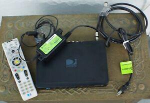 DIRECT TV HD MODEL H25-700 SATELITE RECEIVER w/ POWER CORD & REMOTE