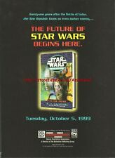 Star Wars Vector Prime Book 1991 Magazine Advert #3276