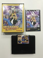 Mutation Nation SNK Neo Geo Aes Japan Near Mint Condition