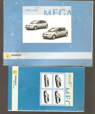 französische Betriebsanleitung Renault Megane Handbuch Ausg 2005 + Kurzanleitung