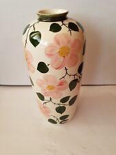 Villeroy & Boch Porzellan Wild-Rose Vase Handbemalt Höhe ca. 37 cm
