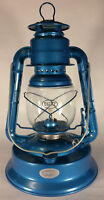 "NEW Blue 12"" tall Dietz No. 1 Little Wizard #1 Oil Kerosene Lantern + wick LA850"