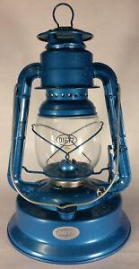 """NEW Blue 12"""" tall Dietz No. 1 Little Wizard #1 Oil Kerosene Lantern + wick LA850"""