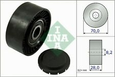 AUDI A4 8E 1.9D Aux Belt Idler Pulley 00 to 08 Guide Deflection INA 03G145276