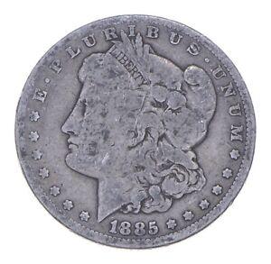 W@W Early 1885 Morgan Silver Dollar - 90% US Coin - Nice Coin *930