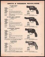 1973 SMITH & WESSON Chief's Special 36 37 Bodyguard 38 Centennial 40 Revolver AD