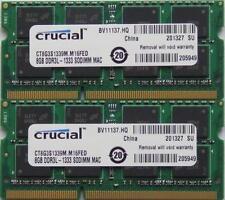 Mémoires RAM Crucial avec 2 modules