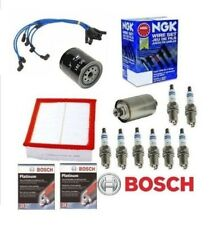 Complete Tune Up Kit Filters NGK Wires Bosch Plugs Discovery & Range Rover