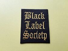 POP, ROCK, PUNK, METAL MUSIC SEW ON & IRON ON PATCH:- BLACK LABEL SOCIETY
