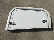 RV MOTORHOME CAMPER RV 14 X 9.125 X 7 BATTERY CARGO STORAGE ACCESS DOOR WHITE