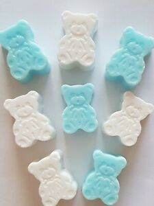 HANDMADE TEDDY BEAR SOAPS,NEW BABY, BABY SHOWER,BABY GIFT, PARTY, CHILDRENS SOAP