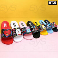 BTS BT21 Official Authentic Goods Pattern Slippers 220~260cm 7Characters + #