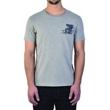 Royal Enfield Gray Engine Logo T-shirt - 2X-large