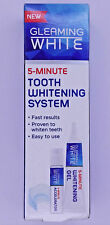 Gleaming WHITE 5-MINUTE Teeth Whitening System complete with DUPLEX MOUTH TRAY