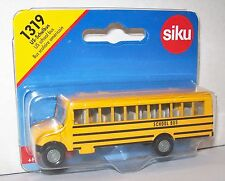 SIKU 1319 Miniature US SCHOOL BUS 8.5cm Long - Diecast Metal with Plastic Parts