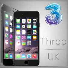 iphone Three Network UK 4, 4S, 5, 5S, 5C, 6,6+,6S,6S+,SE Unlock Code Express
