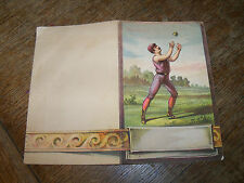 1880s Base Ball Scorecard Unscored Great Graphics! An Easy Fly