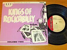 """UK IMPORT ROCKABILLY 10"""" LP - ACE 19 - """"KINGS OF ROCKABILLY"""" VOLUME 2"""