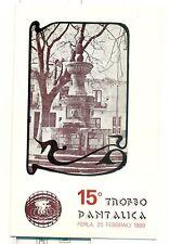 CICLISMO - 15° TROFEO PANTALICA Edizione del 1989 Ferla
