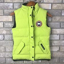 Authentic Canada Goose Arctic Program Down Puff Vest Womens 2XS XXS Green Ski