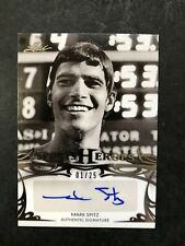 2013 Leaf Sports Heroes Mark Spitz AUTO Silver #BA-MS1 Olympic Swimming #1/25!