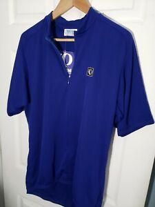 Pearl Izumi Men's Cycling Short Sleeve Club Jersey 1/4 Zip Navy Blue XXL 2XL NWT